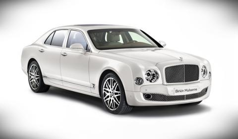 Bentley Birkin Mulsanne frontal