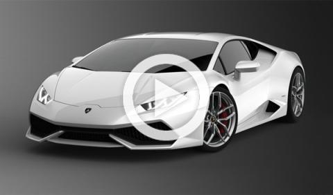 El Lamborghini Huracan, a toda velocidad por Los Ángeles