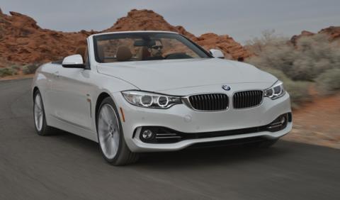 BMW 435i Cabrio delantera