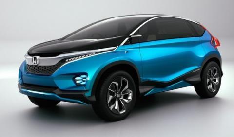 Honda Vision SX-1 frontal
