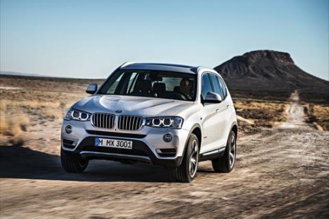 BMW X3 2014 frontal