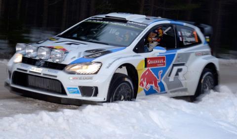 Rally de Suecia 2014, shakedown: sin nieve, ni prisas