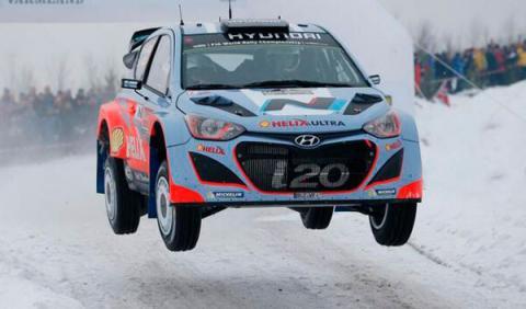 Rally de Suecia 2014 Hyundai Hanninen