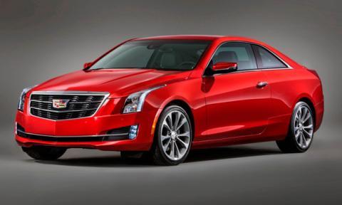 Cadillac ATS Coupe 2014 delantera