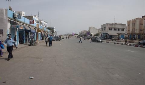 Coches kamikaze en la frontera con Marruecos