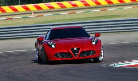 Prueba Alfa Romeo 4C Autobild drift