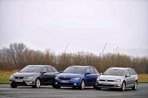 Seat León ST Skoda Octavia Combi Volkswagen Golf Variant grupo