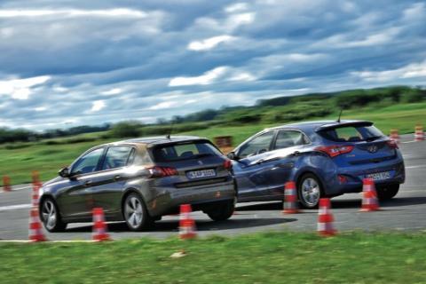 Peugeot 308/Hyundai i30 zaga