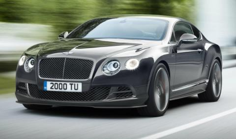 Frontal del Bentley Continental GT Speed