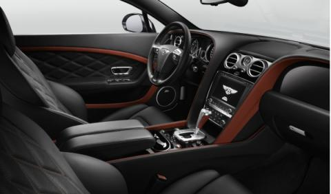 Interior Bentley Continental GT Speed
