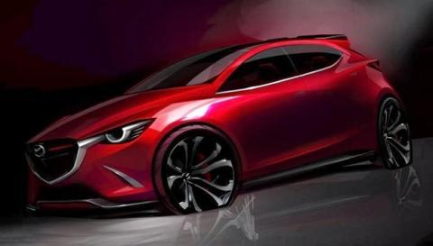 Filtrado el Mazda Hazumi Concept de Ginebra