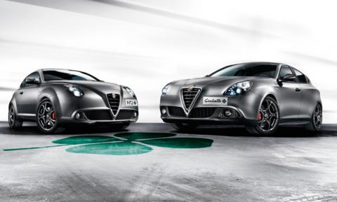 Alfa Romeo MiTo y Giulietta Quadrifoglio Verde delantera