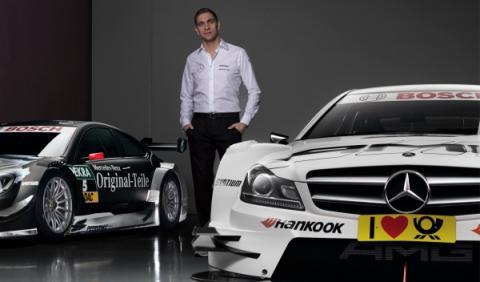 Petrov, con Mercedes en el DTM 2014