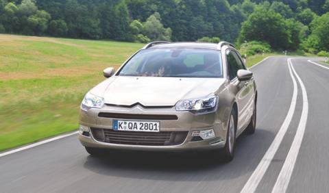 Citroën C5 Tourer prueba larga duración dinámica delantera