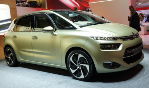 El futuro Citroën Picasso ya rueda por Suecia