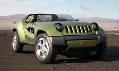 Jeep Renegade Concept delantera