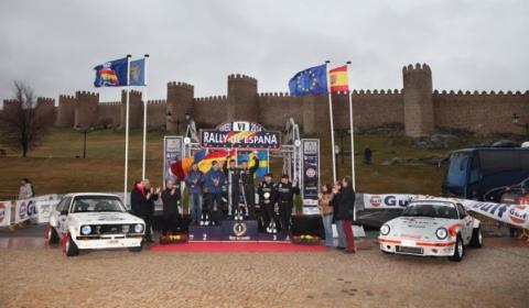 Rally de España Histórico Podio