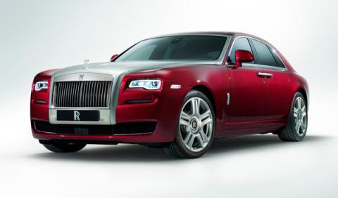 Rolls-Royce Ghost Series II, en el Salón de Ginebra 2014