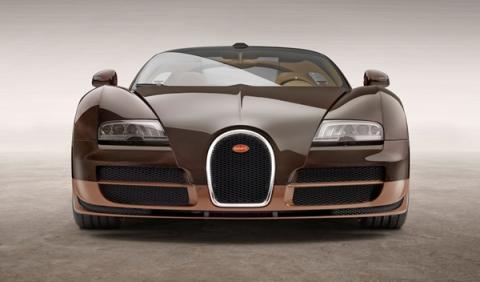 Bugatti Veyron Rembrandt Bugatti frontal