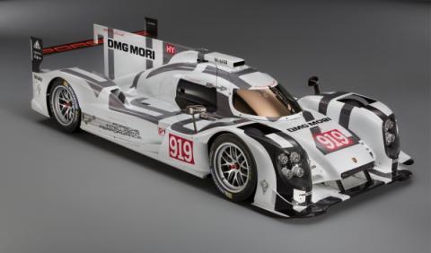 Porsche 919 Hybrid lateral