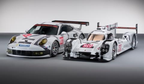 Porsche 911 RSR y Porsche 919 Hybrid Ginebra 2014