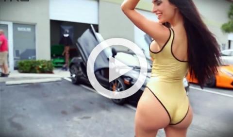Fascinando a dos mujeres con un McLaren MP4-12C