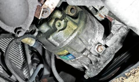Opel Astra SW Segunda Mano compresor del climatizador