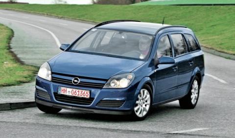 Opel Astra SW Segunda Mano frontal