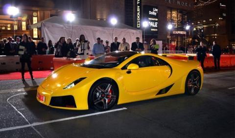 El GTA Spano, estrella en el estreno de 'Need for Speed'