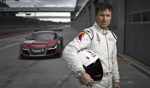 Felix Baumgartner Audi R8