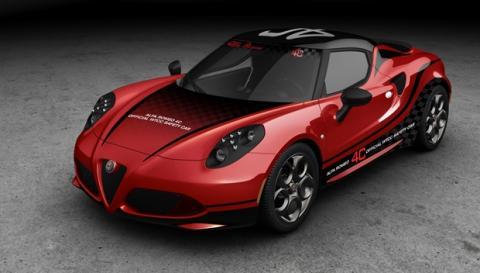 El Alfa Romeo 4C: Safety Car del WTCC 2014