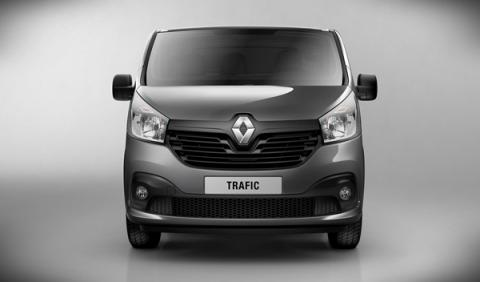 Nuevo Renault Trafic 2014 frontal