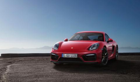 Porsche Cayman GTS frontal