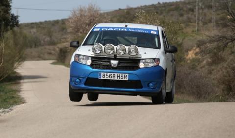 Dacia Sandero Rally Cuo 2014