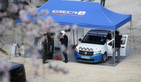 Carpa Dacia Sandero Ray Cup 2014