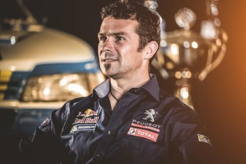 Cyril Despres Peugeot Dakar 2015