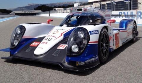Toyota TS040 Hybrid 24 Horas de Le Mans Paul Ricard