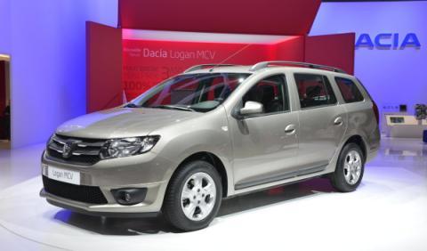 Dacia Logan MCV Salon de Ginebra 2013