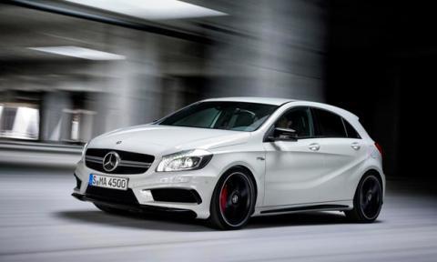 Mercedes Clase A delantera
