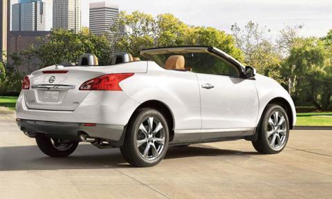 Nissan Murano CrossCabriolet trasera