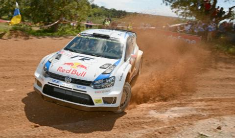 Rally de Portugal, shakedown Latvala