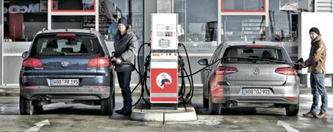 Comparativa de consumo SUV contra modelo compacto
