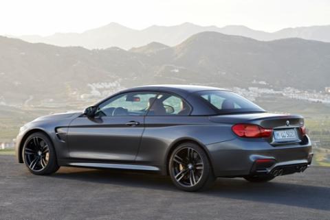 BMW M4 Cabrio cerrado