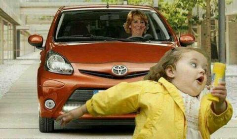 Esperanza Aguirre y la niña del Pompero
