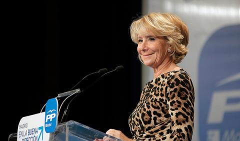 #creoaEsperanza, el PP con Esperanza Aguirre en Twitter