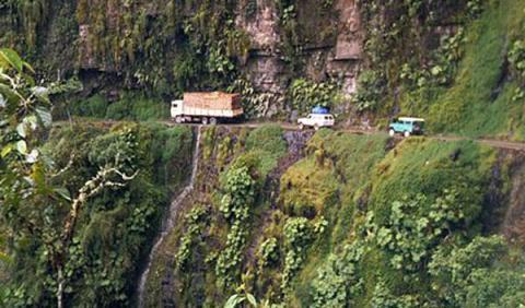 carretera yungas