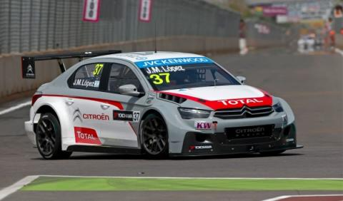Pechito-López-WTCC-Marrakech-Pole