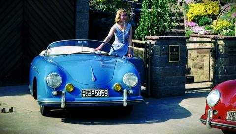 Un Porsche 356A Speedster: bonito y caro... muy caro
