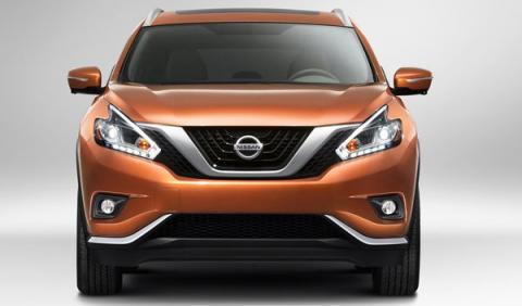 Nissan Murano 2015 frontal