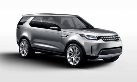 Land Rover Discovery Vision Concept delantera